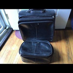 Mont Blanc 2 Pc Luggage Set
